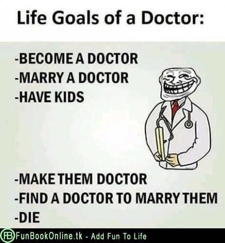 Life goal of a Doctor